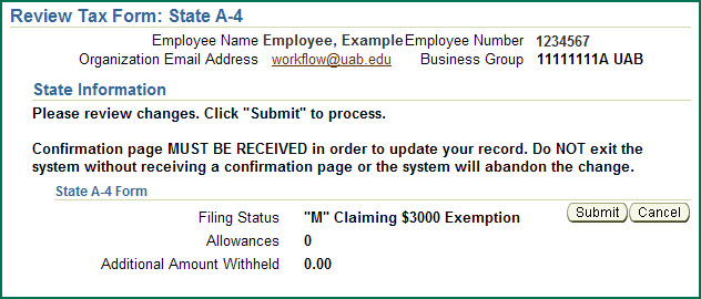 Uab Financial Affairs  Self Service State Online Tax Form