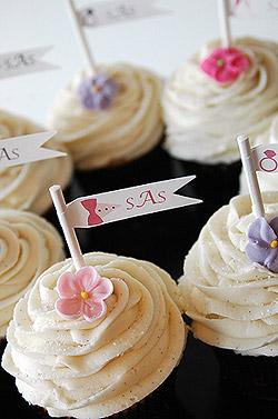 Wedding Cupcakes Decorating