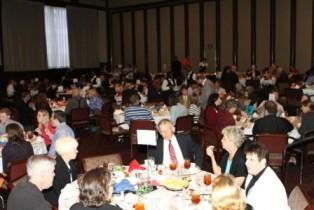 Crowd at 2010 SCORE Banquet