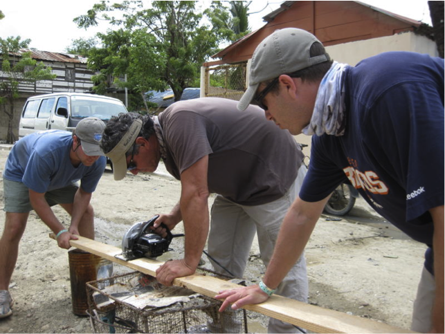 Jose at work in Puerto Plata, D.R.